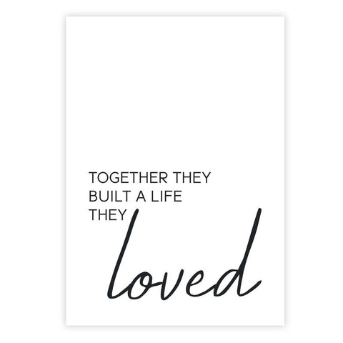 family quotes wall art