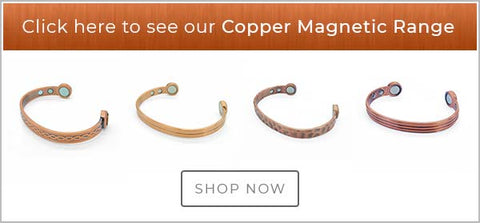 Mens copper magnetic bracelets UK