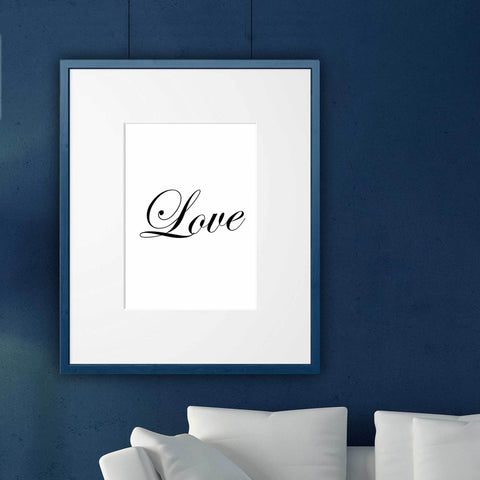 romantic wall art