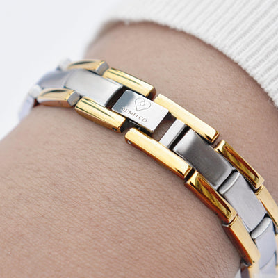 womens magnetic steel bracelet