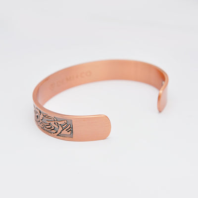 viking copper magnetic bangle