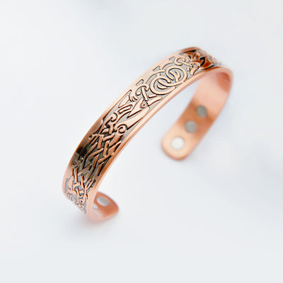 copper magnetic bangle