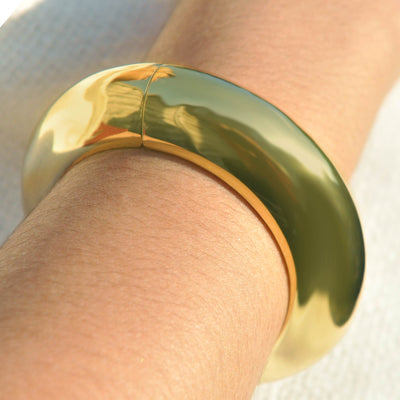 Camilla Gold Cuff Bangle