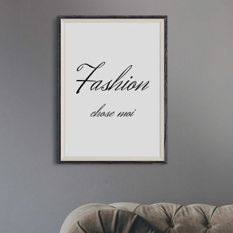 fashion wall prints