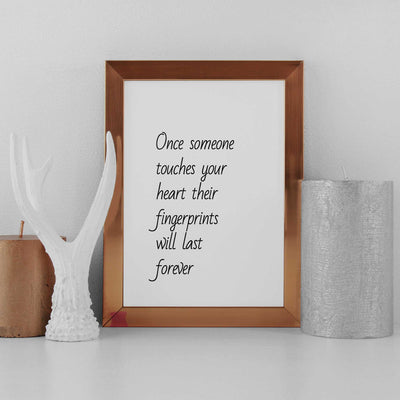 poster quotes wall art prints