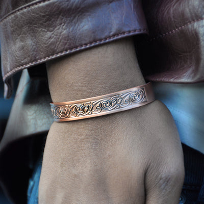 copper magnetic bracelet ALPHA Mens UK