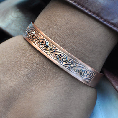 copper magnetic bracelet ALPHA Mens