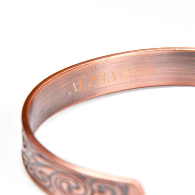 Loki copper magnetic bracelet  | ALPHA™ mens