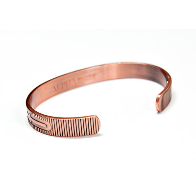 Cross copper magnetic bracelet  | ALPHA™ mens