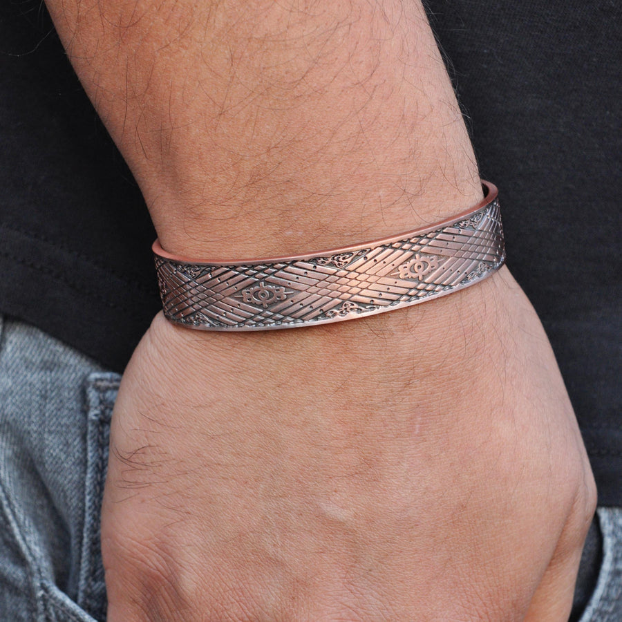 Lannister Copper Magnetic Bracelet