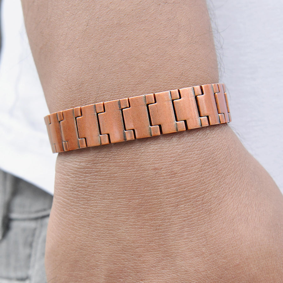 Bear Solid Copper Magnetic bracelet | ALPHA Mens
