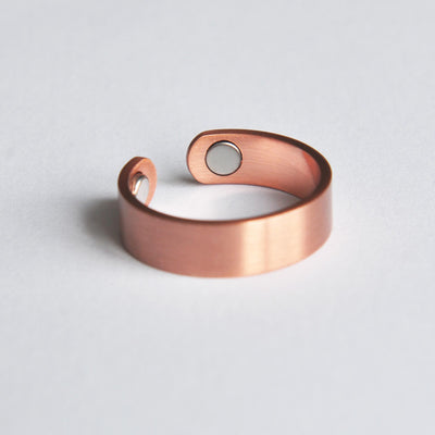 Copper magnetic ring