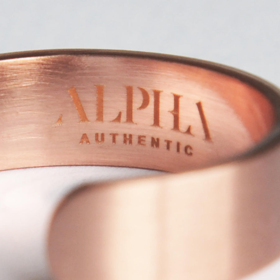 Solid Copper Ring with Magnets - Alpha Exclusive