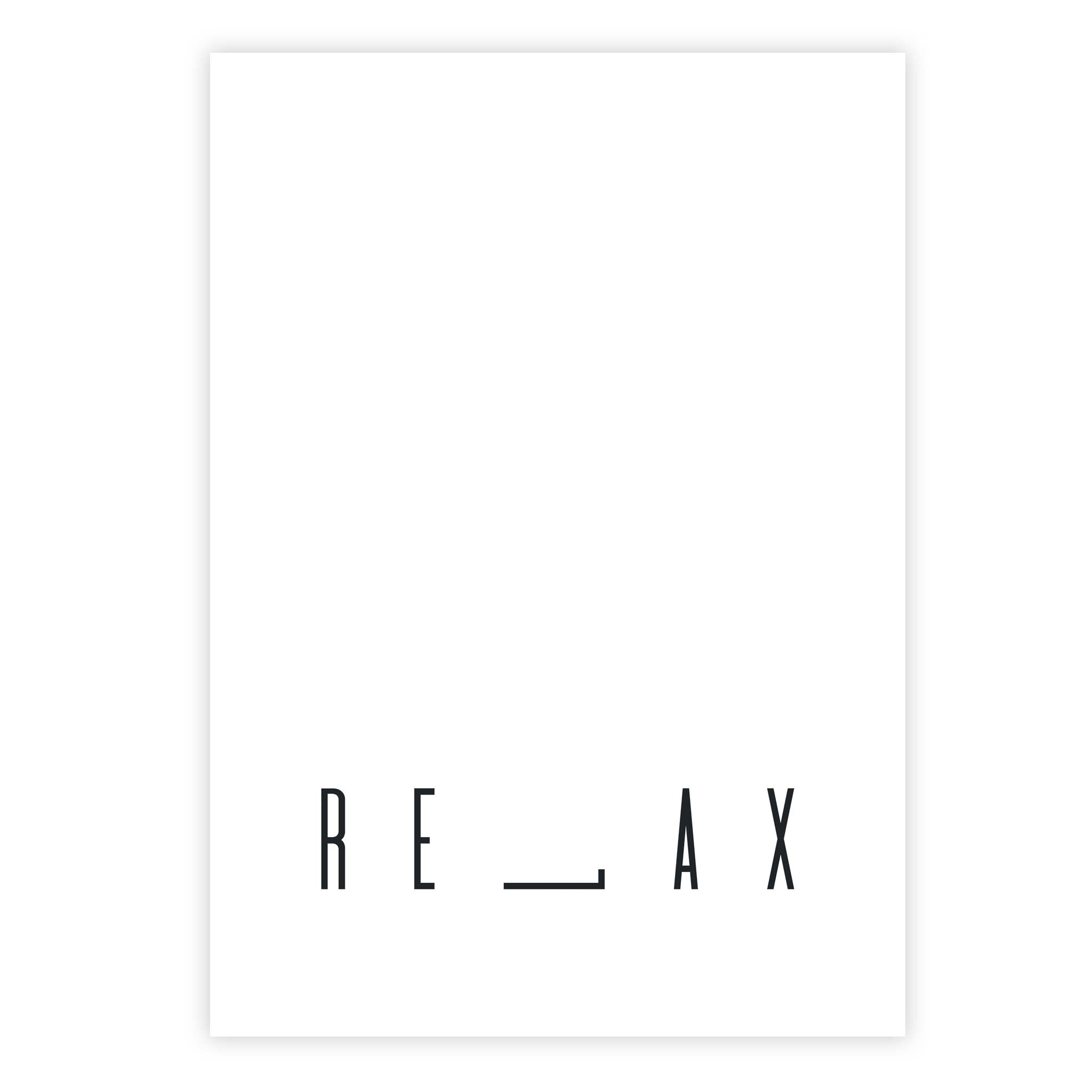 Relax (l on its side)