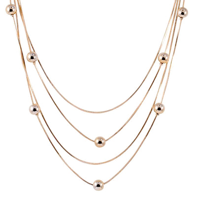 Nicole Gold Necklace
