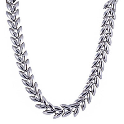 Nixie Silver Necklace