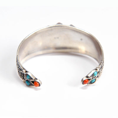 Rajestan sterling silver bangle