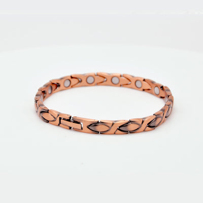 womens copper magnetic bracelet