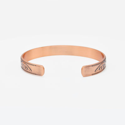 womens magnetic copper bangle