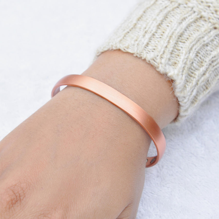 Muse copper bracelet with magnets