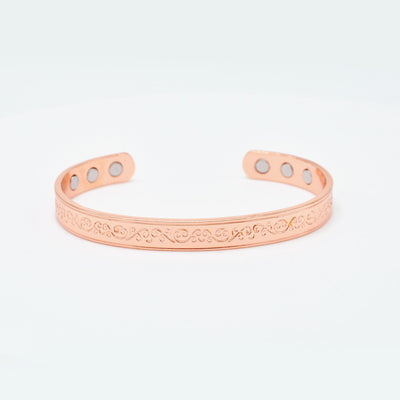 women's shinny copper bracelets