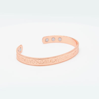 women's shinny copper bangle