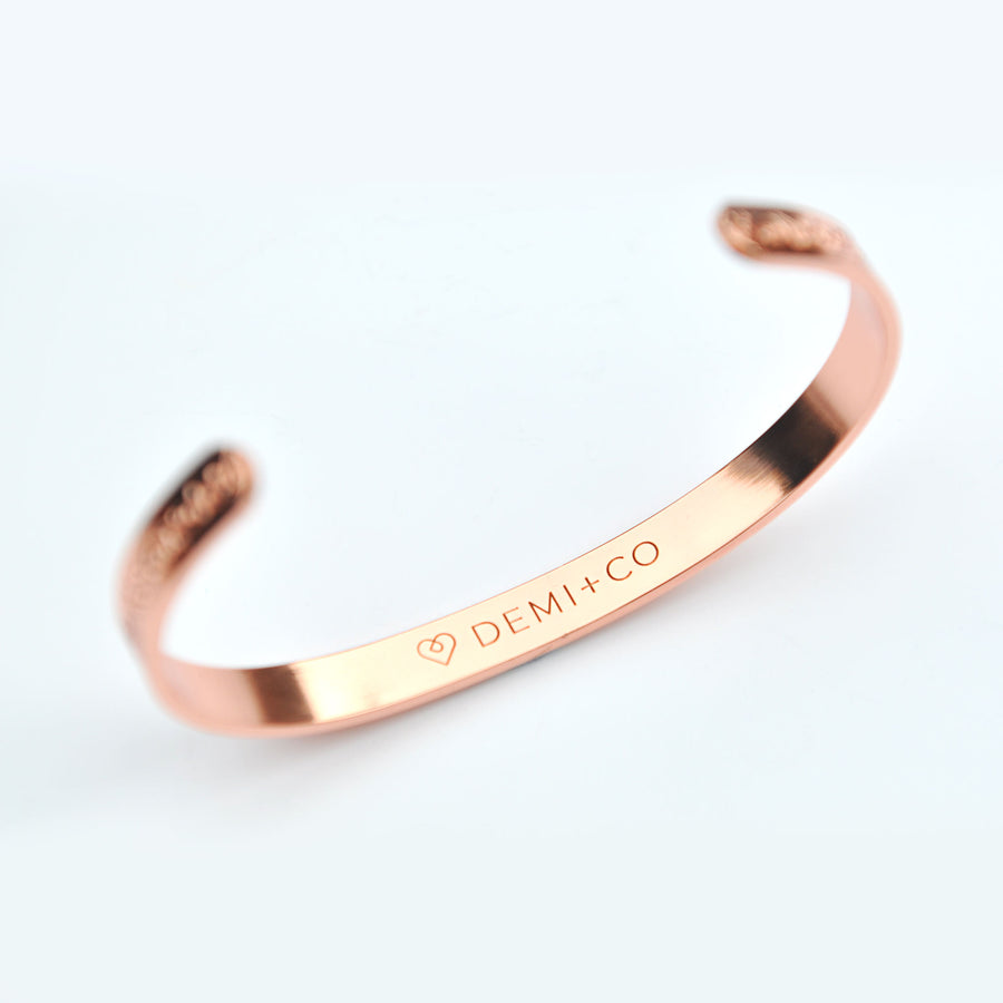 Liberty copper magnetic bracelet