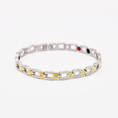 silver magnetic bracelet for females