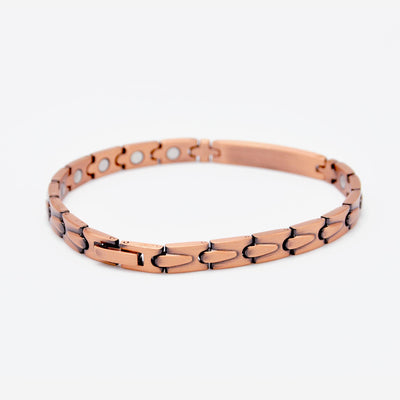 solid copper magnetic bracelet for ladies