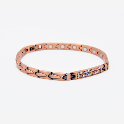 solid copper magnetic bracelet for women