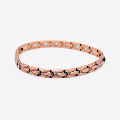 solid copper women bracelet