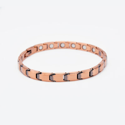 ladies bracelet made from copper