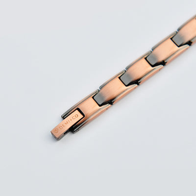 ladies copper magnetic bracelet
