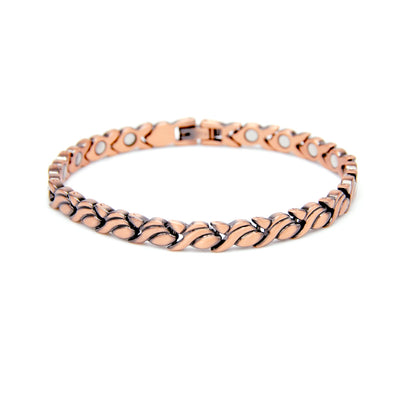 ladies copper bracelet magnets