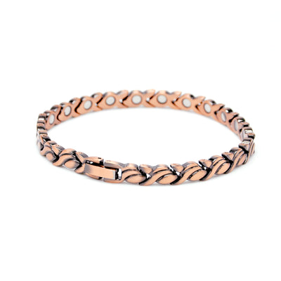 ladies copper magnetic bangle