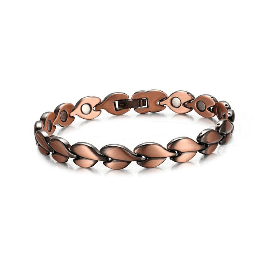 solid copper womens bracelet