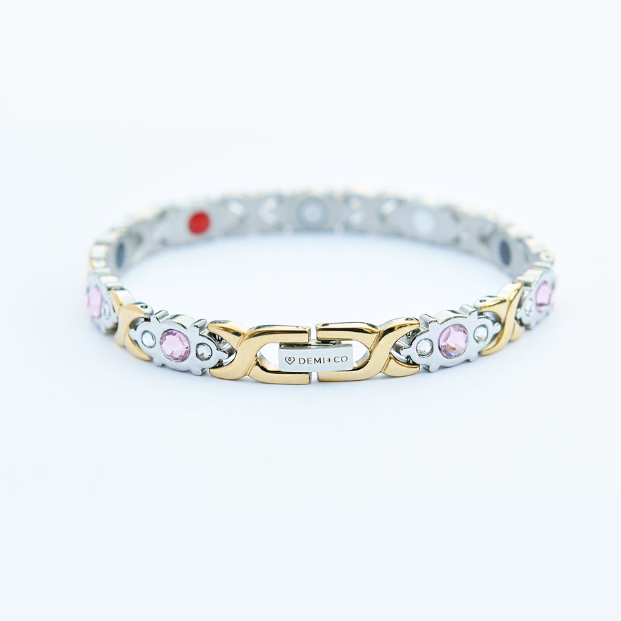 ladies stainless steel bracelet