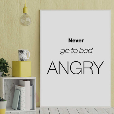 bedroom poster quotes