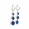 Bella blue sapphire set-DEMI+CO Jewellery