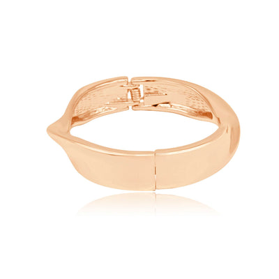 Champagne twist bangle-DEMI+CO Jewellery