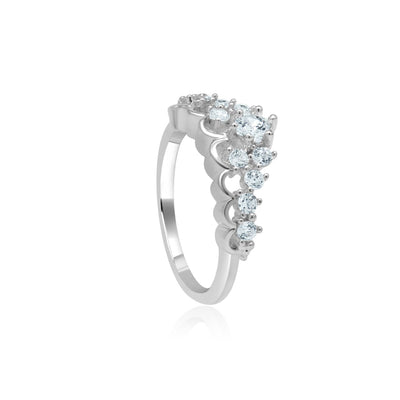 Charlene crown ring-DEMI+CO Jewellery