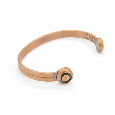 Dual Bio Copper Magnetic Bangle-DEMI+CO Jewellery