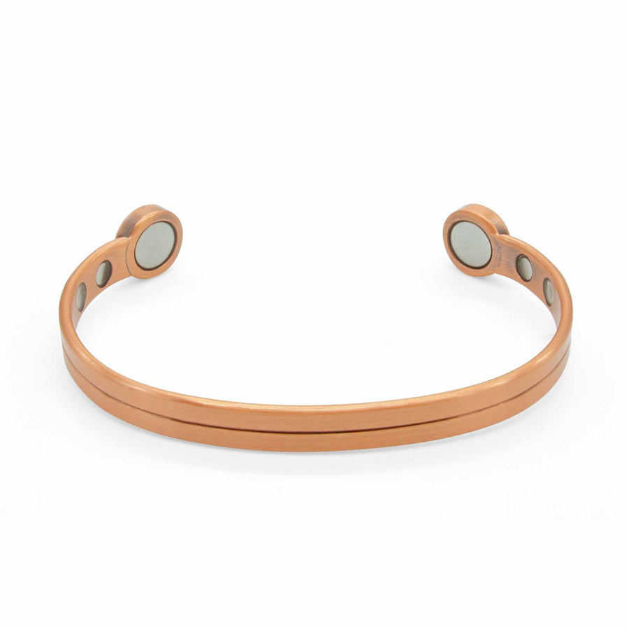 Chelsea Women's Copper Bracelet with Magnets