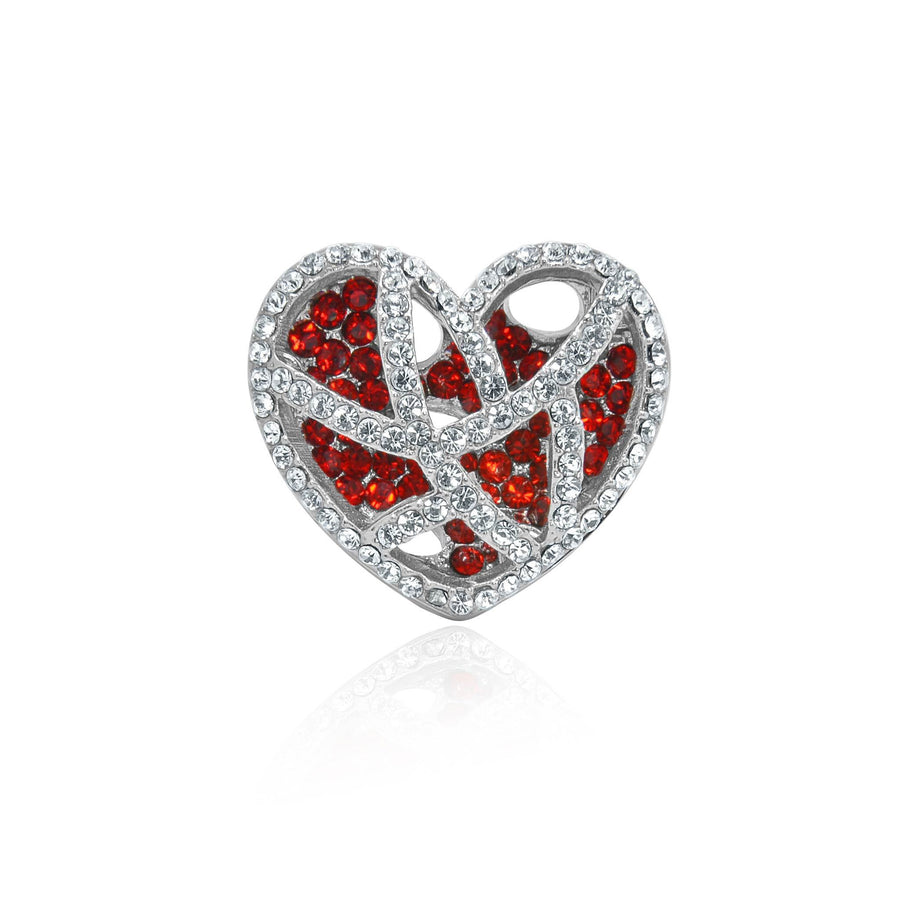 Eternal love caged heart ring
