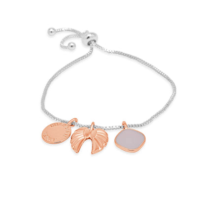 Faith guardian angel bracelet-DEMI+CO Jewellery