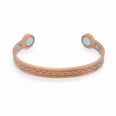 Fraiser Bio Copper Magnetic Bangle-DEMI+CO Jewellery