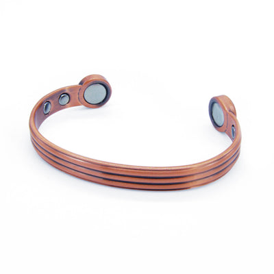Fuel Bio Magnetic Copper Bangle-DEMI+CO Jewellery