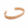 Grid double copper bracelet-DEMI+CO Jewellery