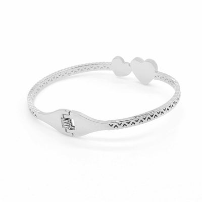 Heart and soul Bangle-DEMI+CO Jewellery