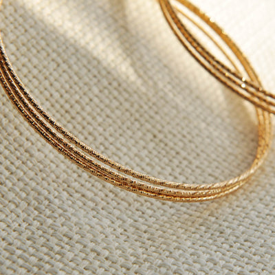 Large 95mm gold hoops earrings